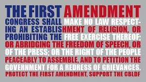 First Amendment Free Speech