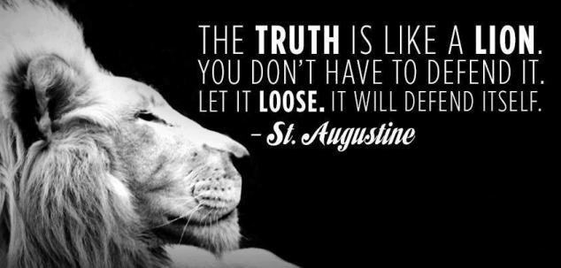 TRUTH Augustine-Quote